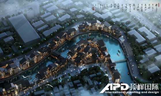 湖北喳西泰水城旅游区位 新城、旧城交接处、未来城市发展核心地段