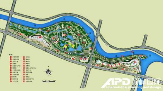 规划设计总平面图