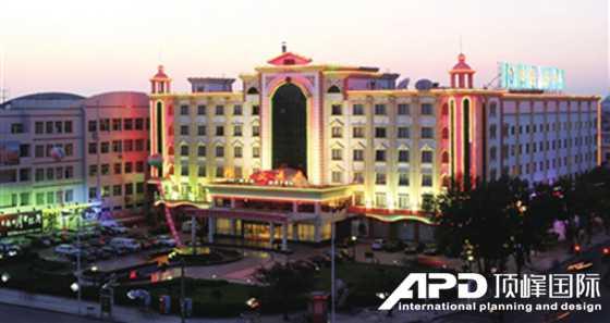 顶峰国际成功案例:三河湖生态旅游区酒店