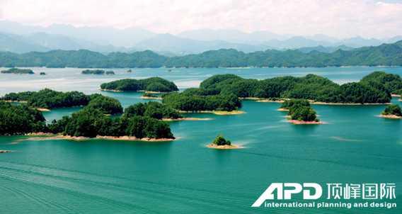 景区规划案例千岛湖整合发展规划