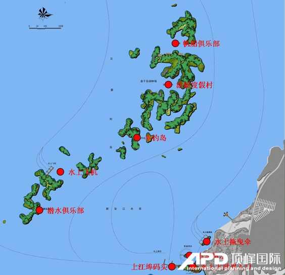滨水旅游规划案例 千岛湖水上大世界
