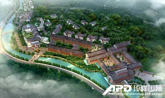 新闻链接    顶峰国际温泉度假,旅游地产规划设计
