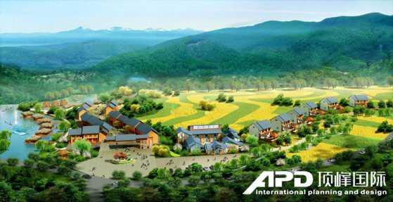 广西石门仙湖旅游区鸟瞰图