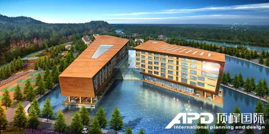 西宁机场度假酒店主题酒店俯视图