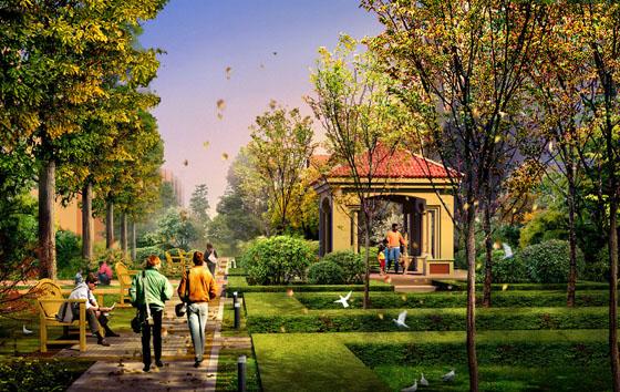 城市园林景观的规划设计要点