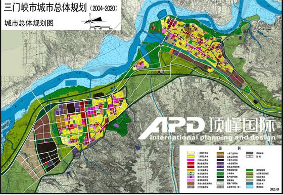 三门峡城市空间发展战略规划(2004-2030)