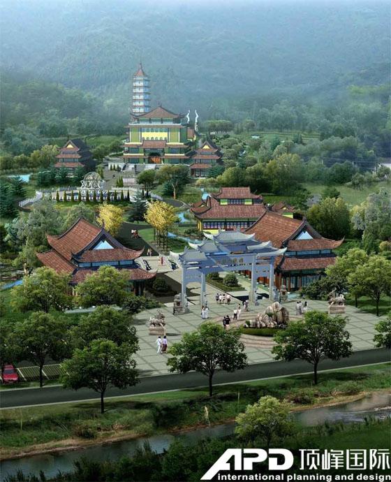 九华山龙泉圣境景区佛国陵园修建性详细规划