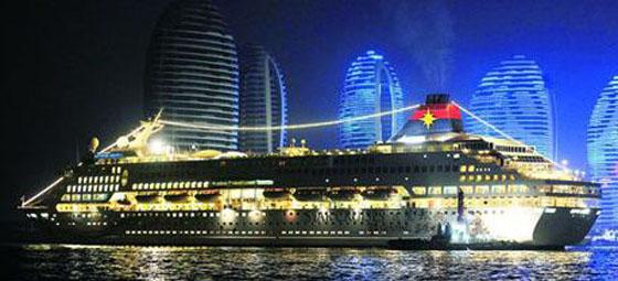 三亚凤凰岛酒店豪华游轮码头