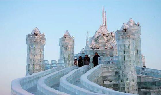 东北冰雕图片大全