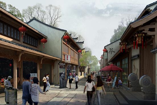 柯桥古镇历史文化街区保护与开发规划_旅游景区升级