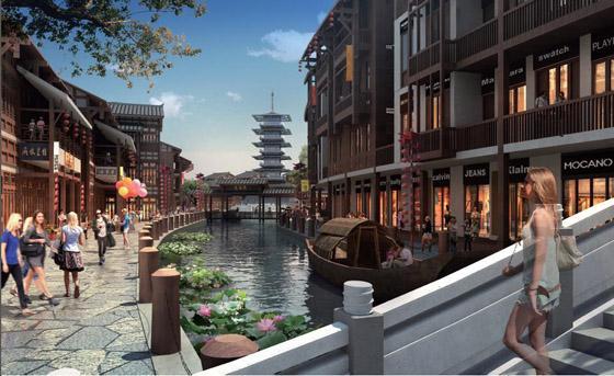 旧城改造老城区到新城新地标之路